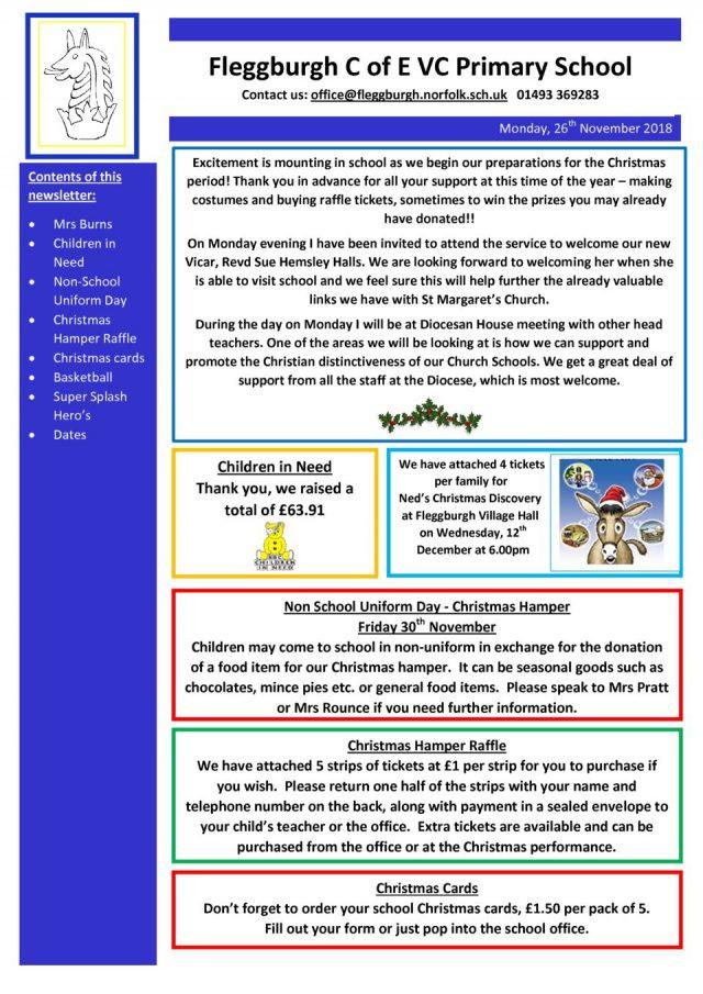 thumbnail of Newsletter-Monday-26th-November