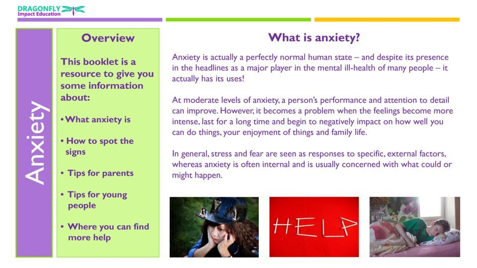 thumbnail of Anxiety Booklet 19