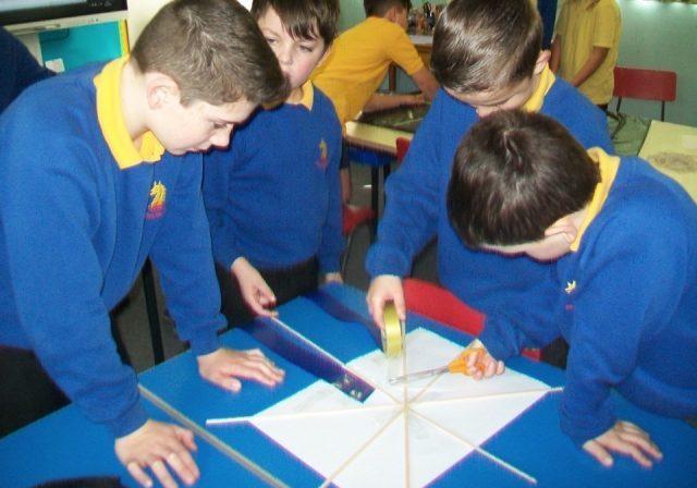 Making a kite (7)